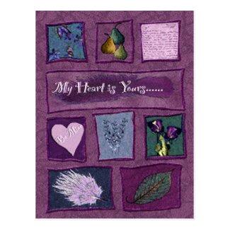 My Heart is Yours Post Cards