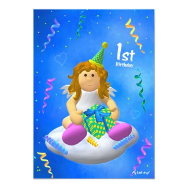 My Little Angel: First Birthday Card
