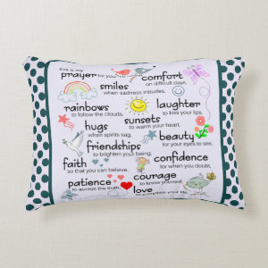 My Prayer For You Decorative Pillow