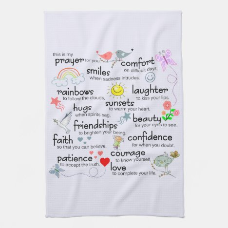 My Prayer For You Kitchen Towel