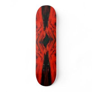 Mystery of the Night / Night Angel Skateboard Deck skateboard