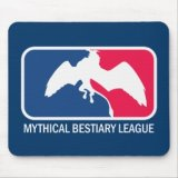 Mythical Bestiary League Mousepad