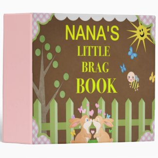 NaNa's Little Brag Book Vinyl Binders