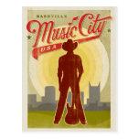 Nashville, TN - Music City USA Postcard