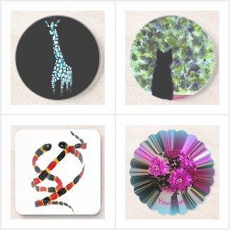 Nature and Funny Animal Coasters