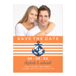 Nautical Save the Date Announcement Photo Card
