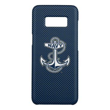 Naval Academy Polka Dot Pattern Case-Mate Samsung Galaxy S8 Case