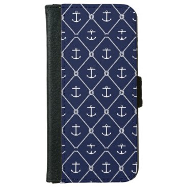 Navy Blue Anchor Iphone 6/6s Phone Case