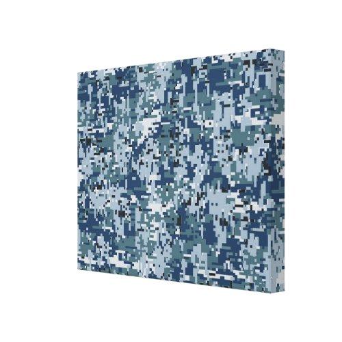 Navy Digital Camo Camouflage Decor