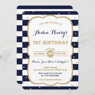 prince 1st birthday invitations zazzle