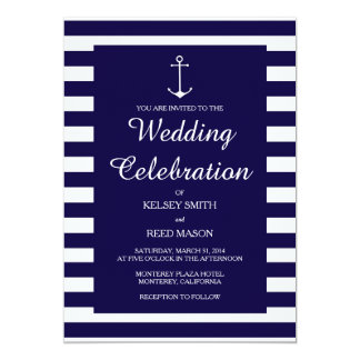 Anchor Wedding Invitations Which Can Be Used To Make Your Own Invitation Design 1