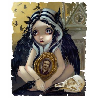 Nevermore - Edgar Allan Poe - Gothic Fairy Shirt shirt