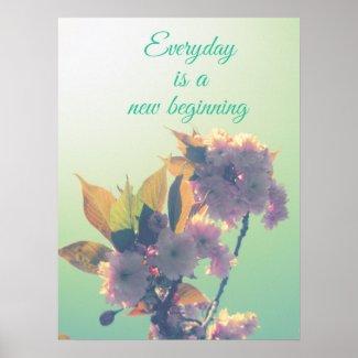 New beginning poster
