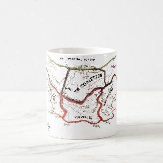 New Lands Map, Mug