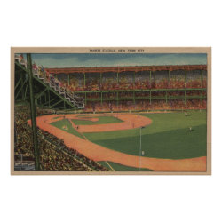 New York, NY - Yankee Stadium Poster