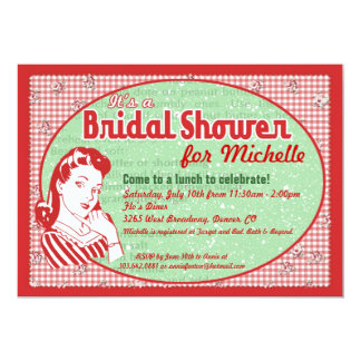 Cly Vintage Bridal Tea Party Shower Card