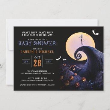 Nightmare Before Christmas Halloween Baby Shower I Invitation