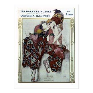 Nijinsky dans La Peri — Ballets Russes Postcard
