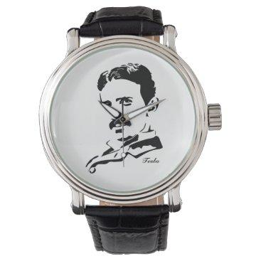 Nikola Tesla Rules! Wrist Watch