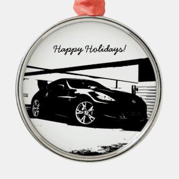 Nissan 370Z Metal Ornament