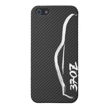 Nissan 370z White Brush Stroke iPhone SE/5/5s Cover