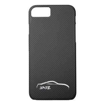 Nissan 370Z White Silhouette Logo iPhone 8/7 Case