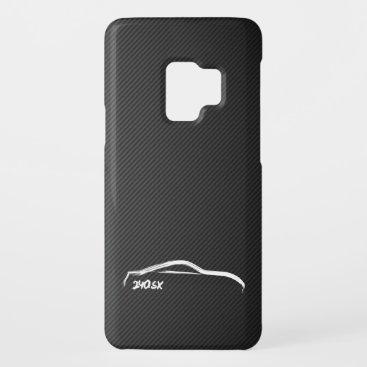 Nissan Silvia 240sx white silhouette Case-Mate Samsung Galaxy S9 Case