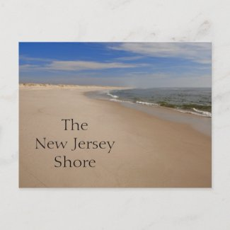 NJ Shore Postcard