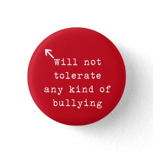 No Bully Policy Pins