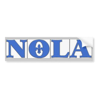 History of New Orleans Blue Letter Street Tiles (5/5)