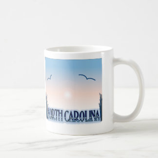 North Carolina Airbrush Sunset Mugs