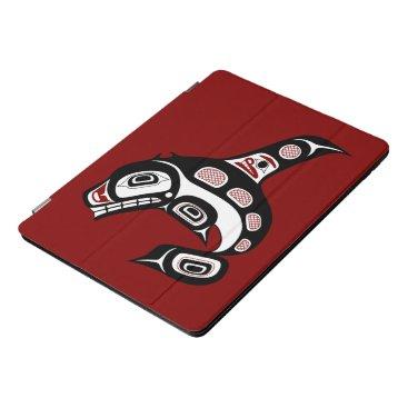 Northwest Pacific coast Haida art Killer whale iPad Pro Cover