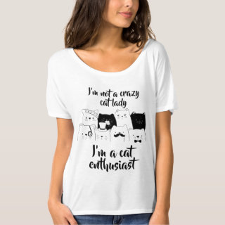 Not A Crazy Cat Lady // Cat Enthusiast T-Shirt