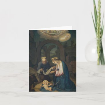 Note Card (Blank/Custom): Birth of Christ