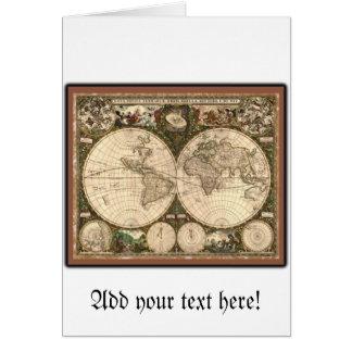 Nova totius terrarum orbis tabula auctore cards