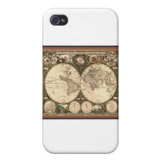Nova totius terrarum orbis tabula auctore covers for iPhone 4