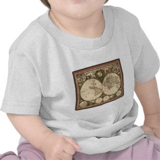 Nova totius terrarum orbis tabula auctore t shirts