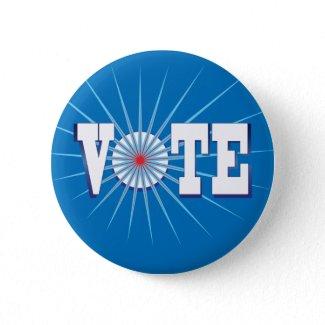 NowPower VOTE ! Button, blue button