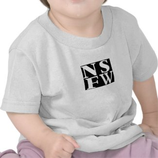 NSFW Kids 4 blocks Big Back sml front grey tee shirt