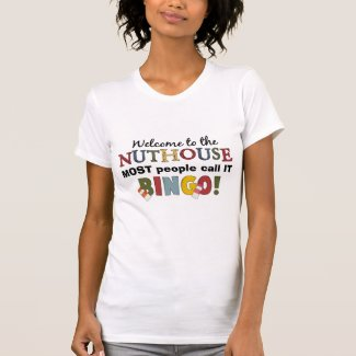 Nuthouse Bingo t-shirt