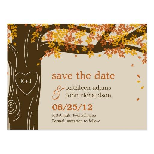 Postcard Save The Dates Wedding Invitations 101