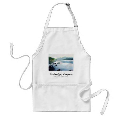Oakridge Reservoir #2 apron