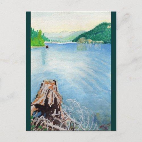 Oakridge Reservoir #4 postcard