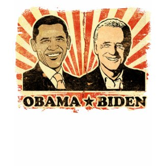 Obama Biden Portraits Ringer T-Shirt shirt