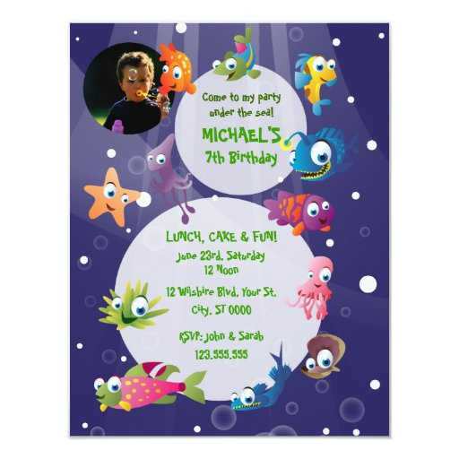 Colorful Baby Shower Invitations