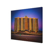 Ocean Vistas Condominium From Daytona Beach Canvas Print