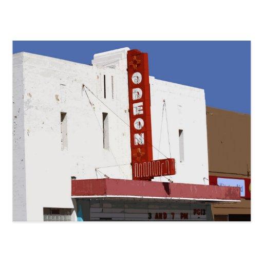 Odeon Theater, Tucumcari, New Mexico Postcard
