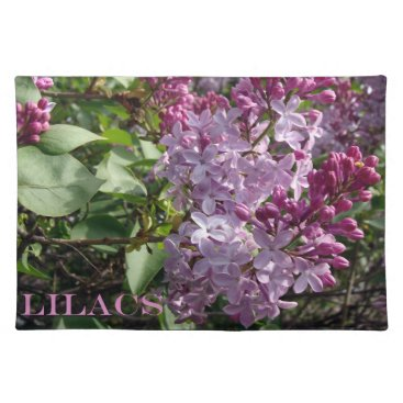 Ohio Lilacs In Spring Cloth Placemat
