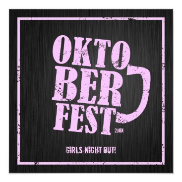 Oktoberfest 2013 - Girls night out Card