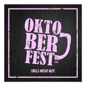 Oktoberfest 2014 - Girls night out Card